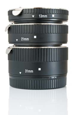 Macro Photography Equipment - Choosing extension tubes