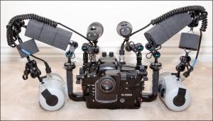 Underwater Macro Photography Equipment - Back