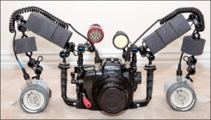 Underwater Macro Photography Equipment - Front