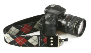 Capturing Couture Camera Strap - Joey Red