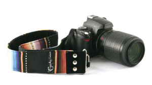 Capturing Couture Camera Strap - Navajo Black