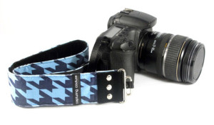 Capturing Couture Camera Strap - The Alex Blue