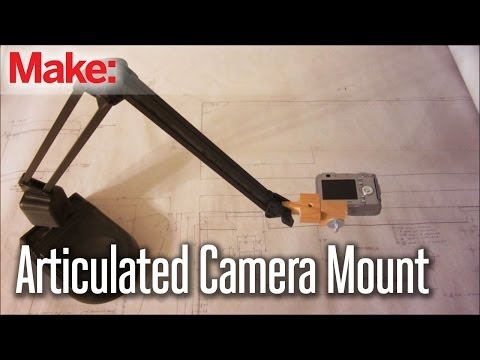 A Cool Way to Make Your Own Articulated Camera Stand